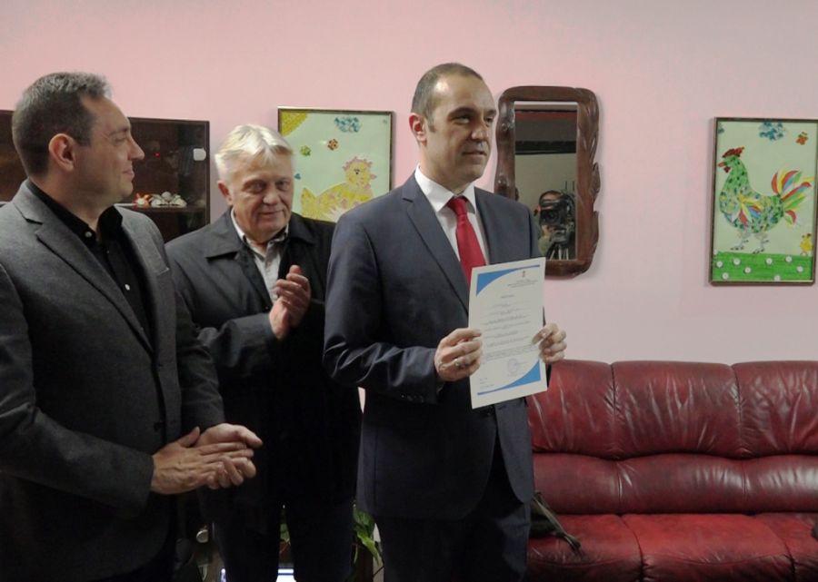 Министар Вулин уручио лиценцу Геронтолошком центру Ниш